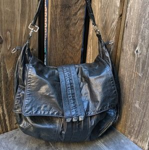 Tylie Malibu Black Leather Purse